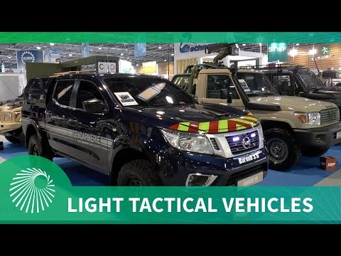 Technamm's light tactical vehicle offerings