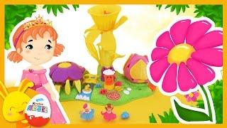 Princesses des fleurs - Jouet Polly Pocket pour les enfants - Touni Toys