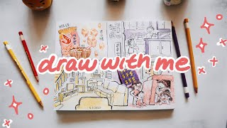 DRAW WITH ME | My Asian American Childhood