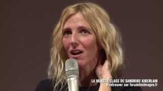 Sandrine Kiberlain - En tournage avec Vincent Lindon