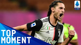 Adrien rabiot made incredible run from his own half before smashing home | serie a tim this is the official channel for a, providing all latest...