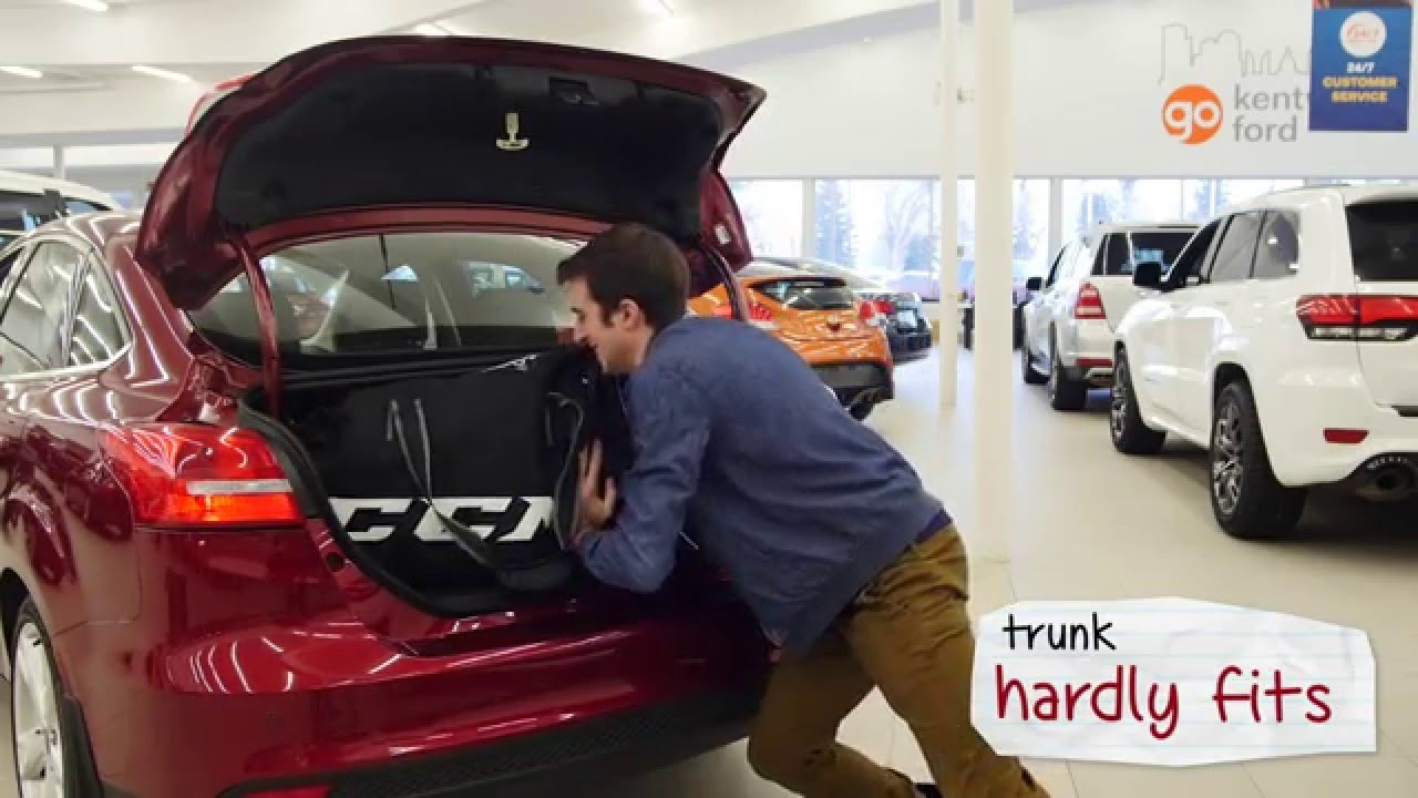 Does a hockey bag fit in these cars? - YouTube