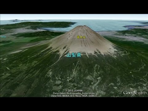 Let's Travel World Heritage sites in Japan with Google earth!