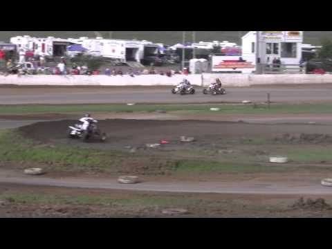 2010 ATVA Extreme Dirt Track Nationals Round 6 Pro Lites Main (Part 1)
