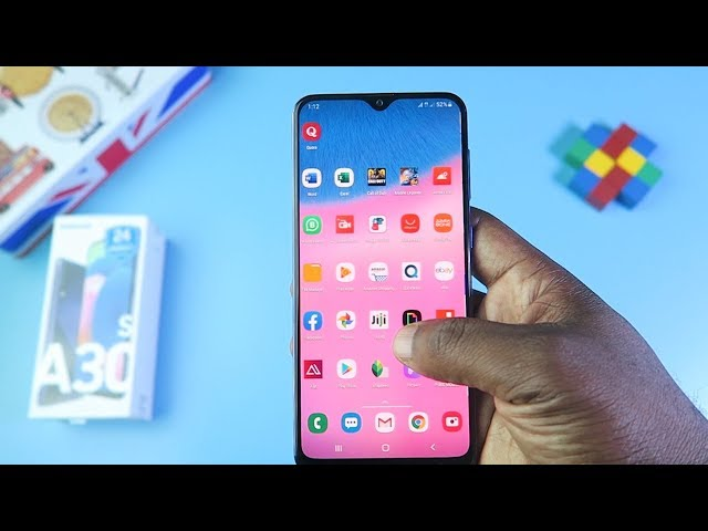 Samsung A30s Unboxing & Initial Impressions (English)