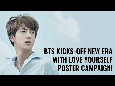[BTS NEWS] BTS Kicks-Off New Era With Love Yourself Posters!