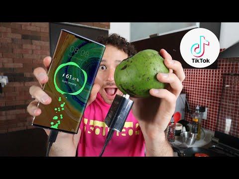 ¿Cómo cargar tu teléfono con FRUTA? 🔌🍌 | Tik Tok Hacks #2