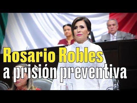 Rosario Robles irá presa al penal de Santa Martha Acatitla