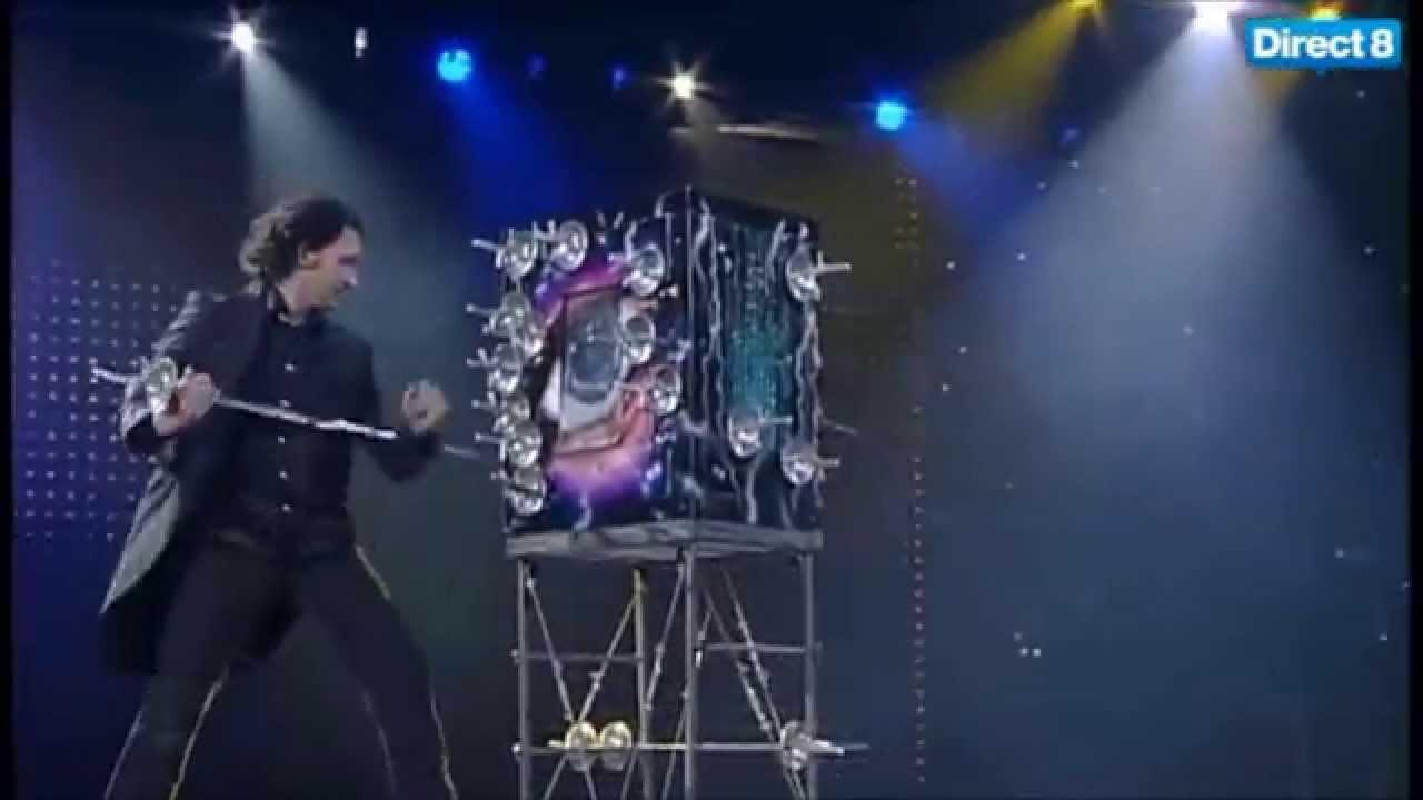 Trick magic revealed box sword Secrets Behind