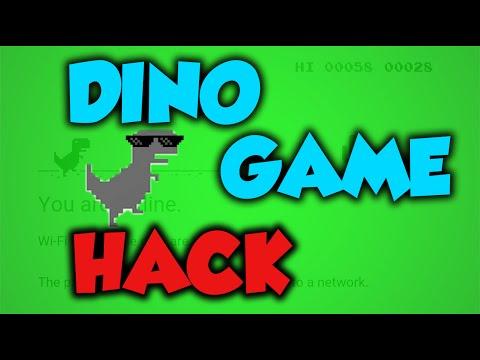 Chrome Dinosaur Game Hack 2016!