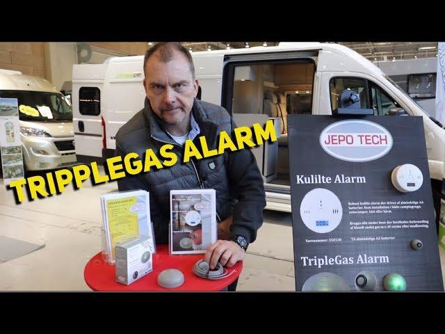 Gasalarm med 2 sensorer fra JepoTech
