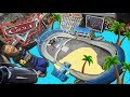 BEST CARS PLAYSET EVER!! Disney Cars 3 ULTIMATE Florida Speeday Playset! BIGGEST TOY UNBOXING FUN!!