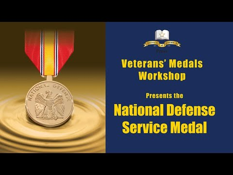 Your National Defense Service Medal, Know It And How To Display It!.