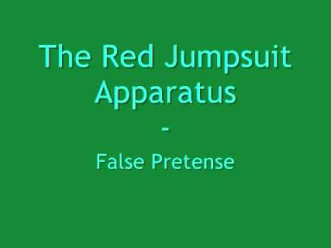 False Pretense The Red Jumpsuit Apparatus Karaoke