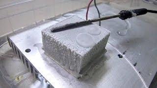 Module à effet Peltier / Production de froid - Démonstration