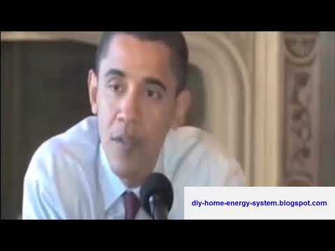 Recall President Obama's plan the issue of solar power and coal-fired plants