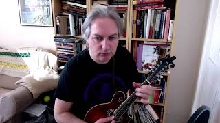 James McMahon's (jig) on mandolin