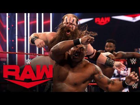 Cedric Alexander & The Viking Raiders vs. The Hurt Business: Raw, Aug. 31, 2020