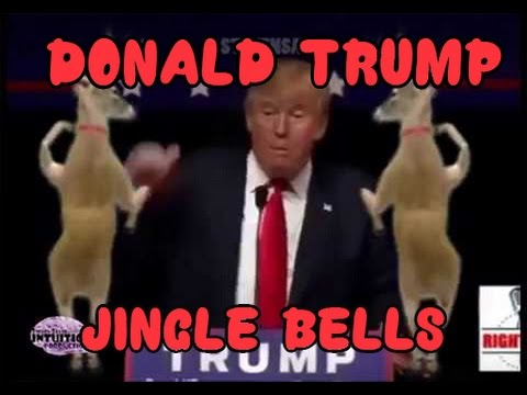 DONALD TRUMP CHRISTMAS SONG  BING BONG REMIX jingle bells compilation  president   build a wall