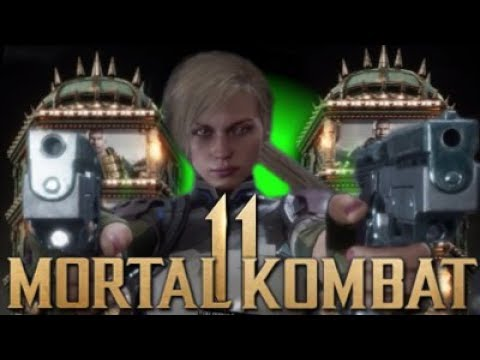 Mortal Kombat 11 - Cassie Cage Exclusive Gameplay! Towers Of Time Arcade Mode! thumbnail