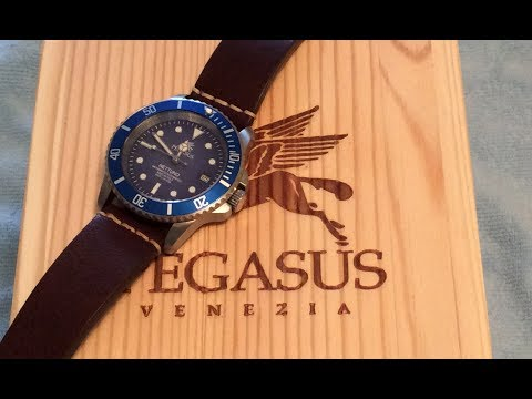 Pegasus Watches Nettuno Blue Automatic Dive Watch Review
