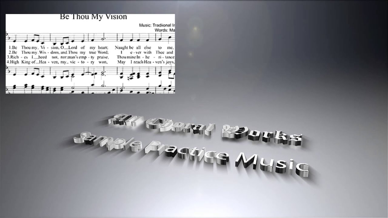 Be thou my vision sheet music mixed choir youtube be thou my vision sheet music mixed choir hexwebz Gallery