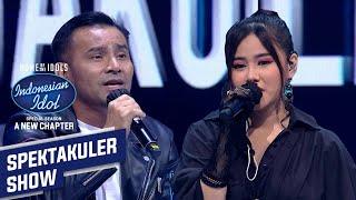 Merinding Dengernya ! Melisa Duet Bareng Judika - Spekta Show TOP 13 - Indonesian Idol 2021