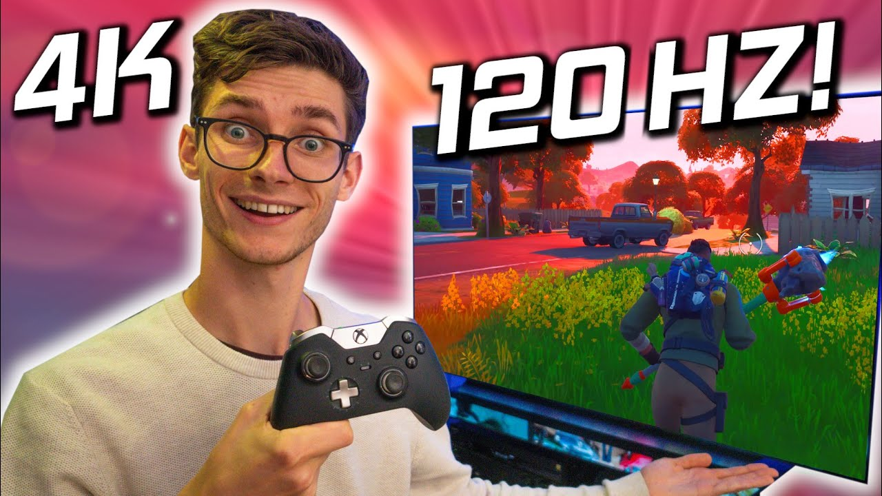 4K GAMING At 120 FPS... On A TV?! 😍 How To Setup RTX 3080/PC/PS5/Xbox Series X With HDMI 2.1!