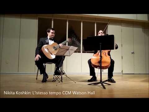 Nikita Koshkin L'istesso Tempo U.S. Premiere April 14th 2013 (remastered audio)