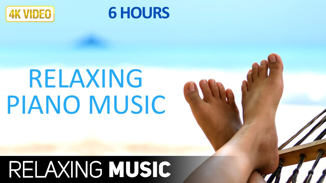 Tropical Island Beach Ambience Sound: 6 Hours Soothing Background Music