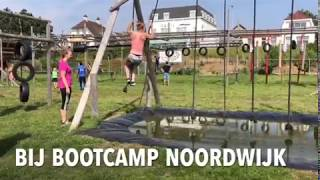 Obstacle training Bootcamp Noordwijk