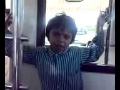 Child Funny Shayari by Indian Hyderbadi Little Boy Shakil
