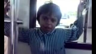 Child Funny Shayari by Indian Hyderbadi Little Boy Shakil