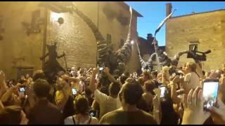 Mercantia 2017 - Inaugurazione coi draghi giganti