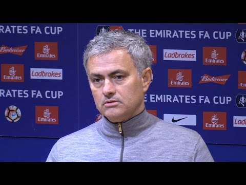 Manchester United 4-0 Reading - Jose Mourinho Full Post Match Press Conference - FA Cup