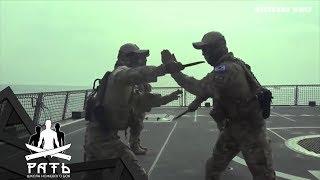 Ножевой бой спецназа Южной Кореи. Упражнение Flow.