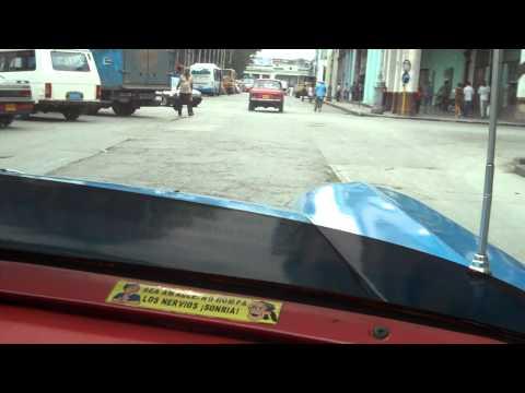Taxi Ride in Havana, Cuba