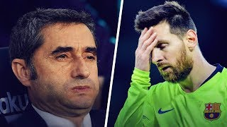 How Ernesto Valverde is destroying FC Barcelona | Oh My Goal
