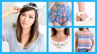 Summer Fashion Haul! ♡ Zara, Urban Outfitters, Nastygal + more! - ThatsHeart Thumbnail