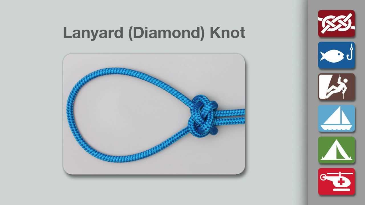 Lanyard Knot | How to tie a Lanyard Knot using Step-by-Step