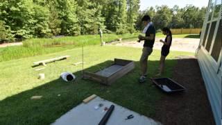 Planter Box Construction Time Lapse