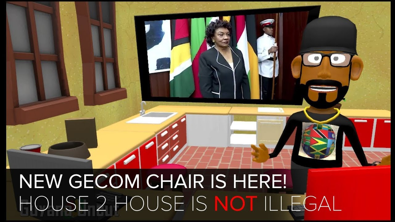 NEW GECOM CHAIR SWORN IN || HOUSE TO HOUSE IS NOT ILLEGAL