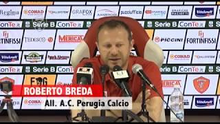 Perugia-Ternana 2-3, conferenza stampa post gara di mister Breda thumbnail