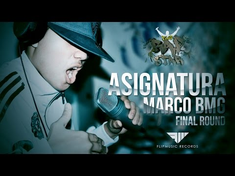 Marco BMG - Asignatura (FlipMusic Rapstar 2015 Finals) from YouTube · Duration:  4 minutes 10 seconds