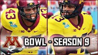 NCAA Football 14 Dynasty:  Capital One Bowl vs Alabama - Season 9