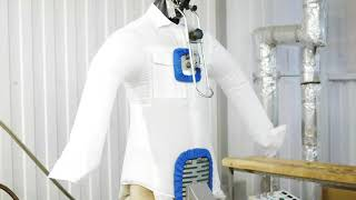 видео химчистка рубашек