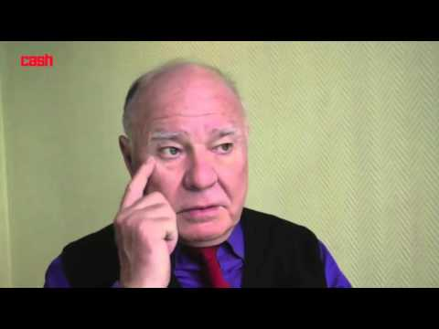 Marc Faber Discusses FED, Negative İnterest Rate, Asian Nations, War On Cash, China Credit Bubble