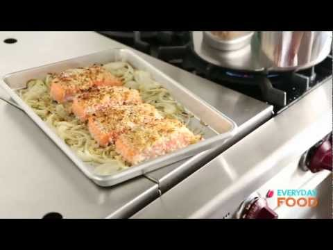 Honey-Mustard Salmon With Green Beans | Everyday Food With Sarah Carey