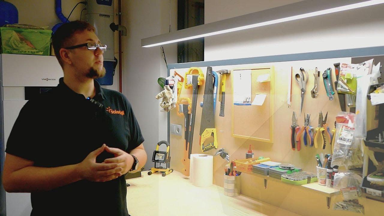 Oświetlenie Led Garażu Inspiracje Oświetleniowe Profile Led Gip I Inter
