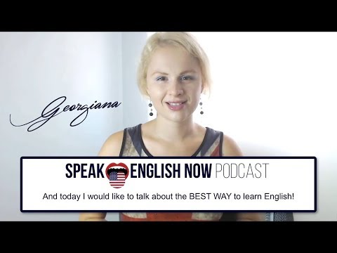 Speak English Now Podcast | The Podcast that will make you Speak